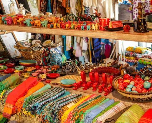 Nomad Kenya gift shopping