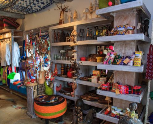 Nomad Kenya gift shopping