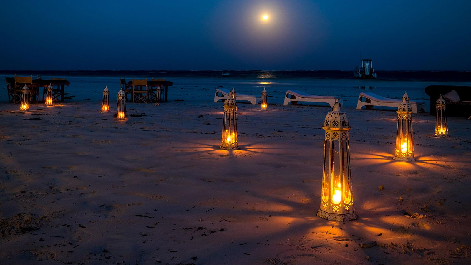 Full Moon DInner Diani Beach Kenya
